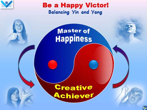 Happy Vistor emfographics - Master of Happiness, Creative Achiever