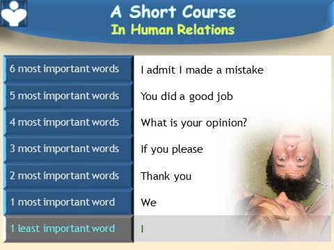Most Important Words, Short Course in Relationships, Emfographics, Dennis Kotelnikov, Ksenia Kotelnikova