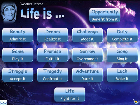 Mother Teresa: Life Is ...